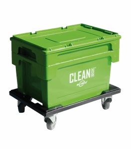 CLEAN BOX con coperchio, portacampioni, freni